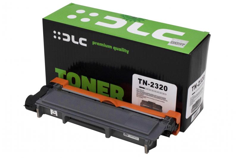 Cartus compatibil toner DLC BROTHER TN2320, 2.6K