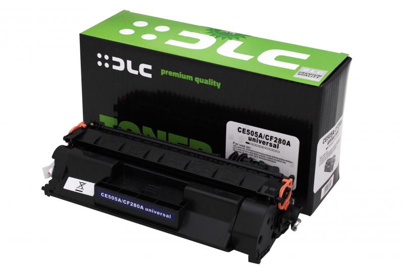 Cartus compatibil toner DLC HP CE505A/CF280A/CRG719 2.7K