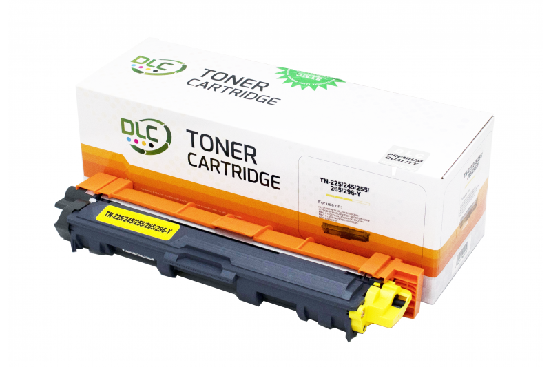 Cartus compatibil toner DLC BROTHER TN245/225/255/265 YELLOW 2.2K