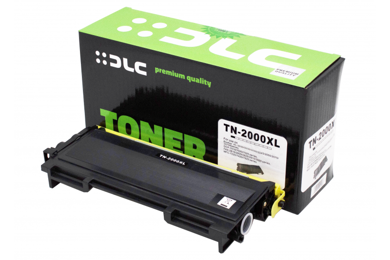 Cartus compatibil toner DLC BROTHER TN2000, 2.5K