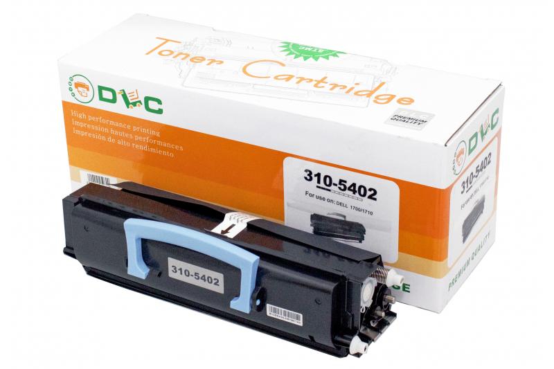 Cartus compatibil toner DLC DELL 310-5402 (1700/1710) BK, 6K