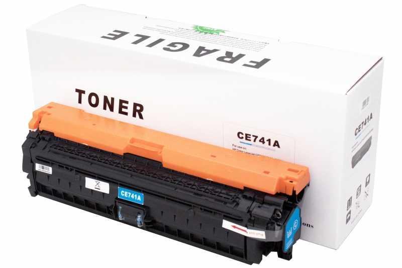 Cartus compatibil toner DLC HP CE741A (HP 5225) CYAN 7.3K