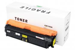 Cartus compatibil toner DLC HP CE742A (HP 5225) YELLOW 7.3K