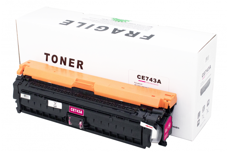Cartus compatibil toner DLC HP CE743A (HP 5225) MAGENTA 7.3K