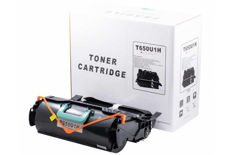 Cartus compatibil toner DLC LEXMARK T650U1H (T650/X651/652) 25K