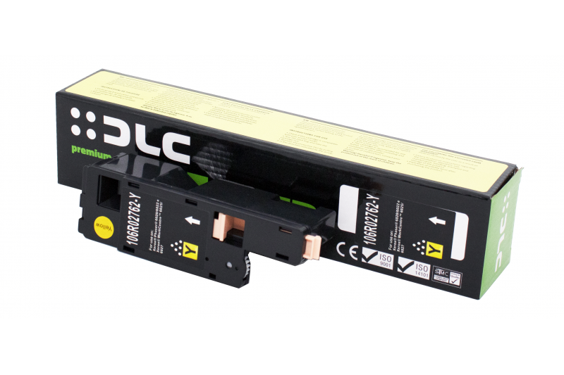 Cartus compatibil toner DLC XEROX 106R02762 (PH6020/6022/WC6025/6027) YELLOW 1K