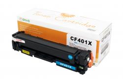 Cartus compatibil toner DLC HP 201X (CF401X) CYAN 2.3K