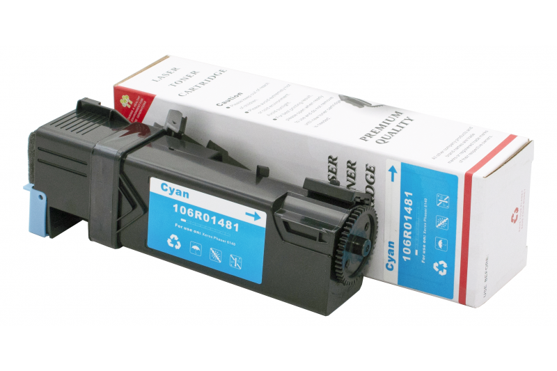 Cartus compatibil toner DLC XEROX 106R01481 (Phaser 6140) CYAN 2K