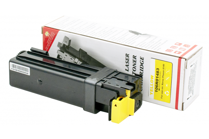Cartus compatibil toner DLC XEROX 106R01483 (Phaser 6140) YELLOW 2K