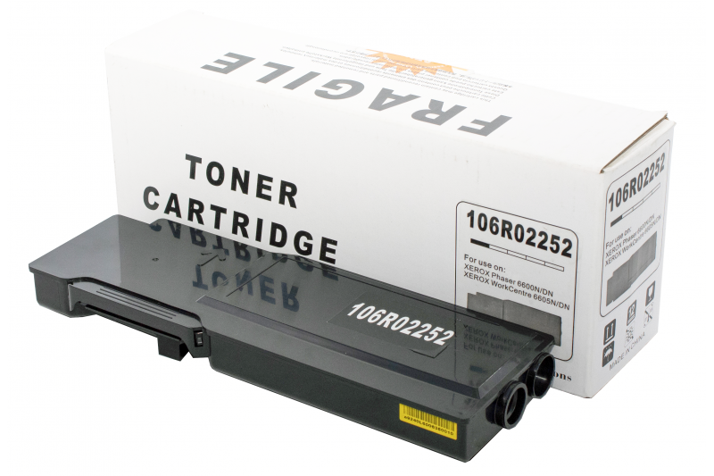 Cartus compatibil toner DLC XEROX 106R02252 (Phaser 6600 / WorkCentre 6605) BK 3K