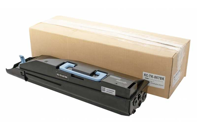 Cartus compatibil toner DLC KYOCERA TK867 BK 20K