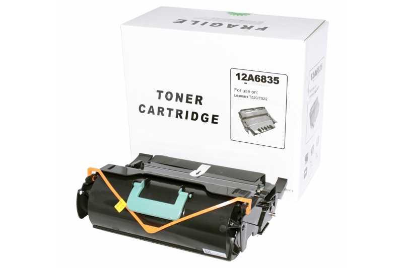 Cartus compatibil toner DLC LEXMARK 12A6835 (T520 / T522 / X520 / X522), 21K