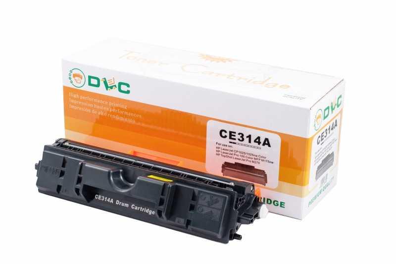 Unitate imagine (drum unit) compatibil DLC HP 126A (CE314A), 14K BK / 7K COLOR