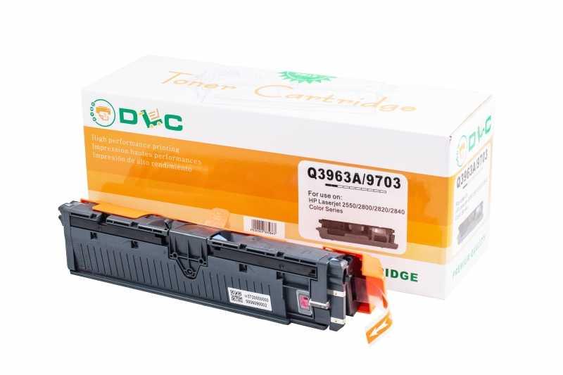 Cartus compatibil toner REMANUFACTURAT DLC HP 122A (Q3963A) MAGENTA, 4K