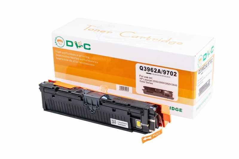 Cartus compatibil toner REMANUFACTURAT DLC HP 122A (Q3962A) YELLOW, 4K