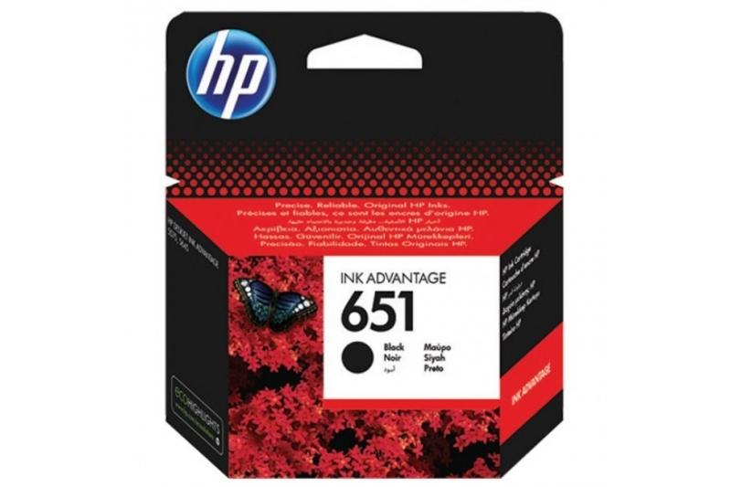 Cartus original HP 651 BLACK (C2P10AE)