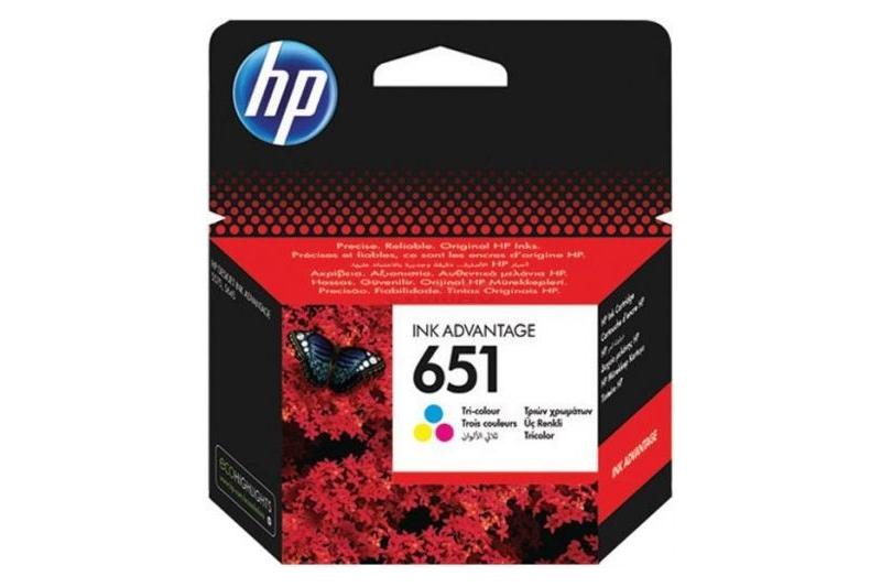 Cartus original cerneala HP 651 COLOR (C2P11AE)