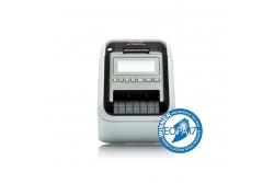 Brother QL-820NWB - Imprimantă de etichete cu Wi-Fi, rețea Ethernet, Bluetooth, AirPrint și ecran