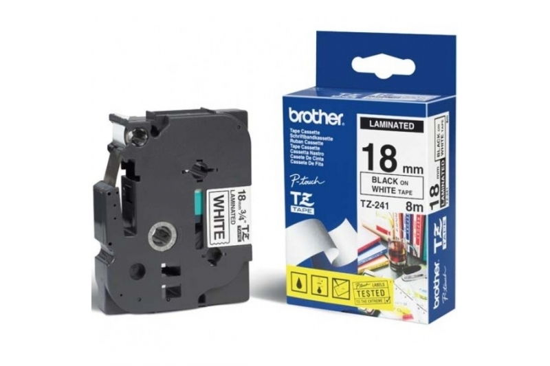BROTHER TZE241 TAPE 8MM