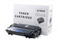 Cartus compatibil toner DLC-N HP Q7551X, 13K (AMBALAJ ALB)