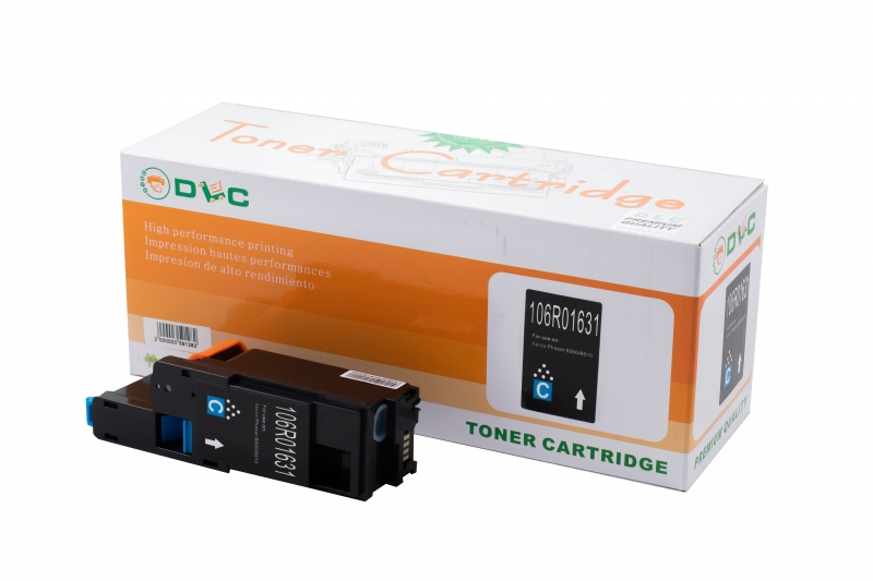 Cartus compatibil toner DLC XEROX 106R01631 CYAN, 1K