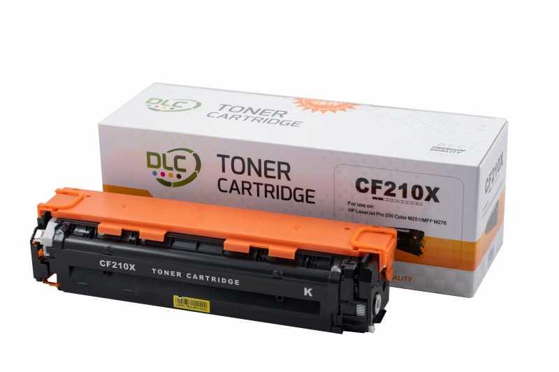 Cartus compatibil toner DLC HP 131X (CF210X) BK, 2.4K