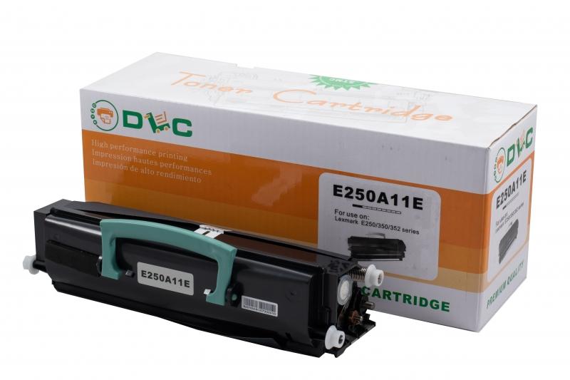 Cartus compatibil toner DLC LEXMARK (E250A11E) E250/350/352, 3.5K