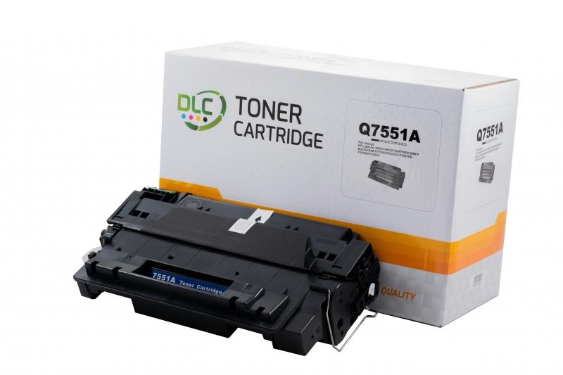 Cartus compatibil toner DLC HP 51A (Q7551A), 6.5K