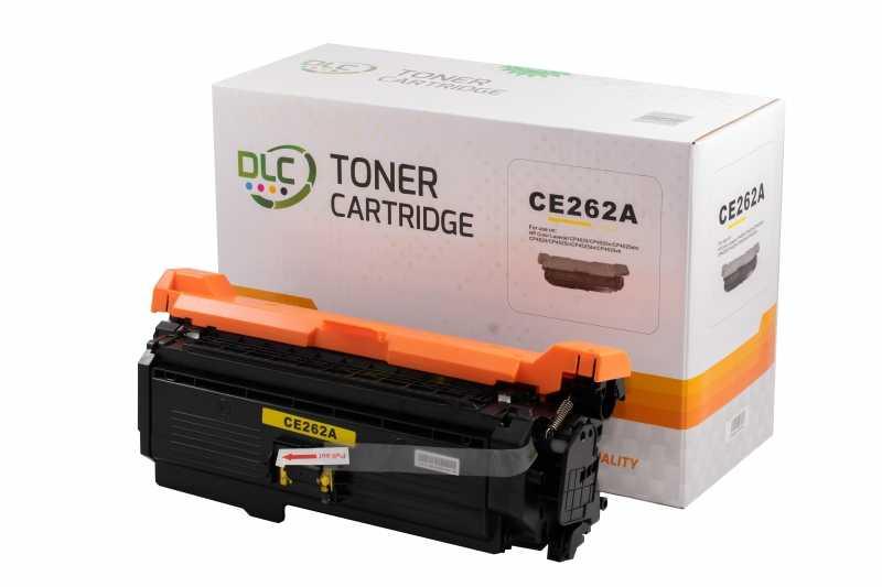 Cartus compatibil toner DLC HP 648A (CE262A) YELLOW, 11K