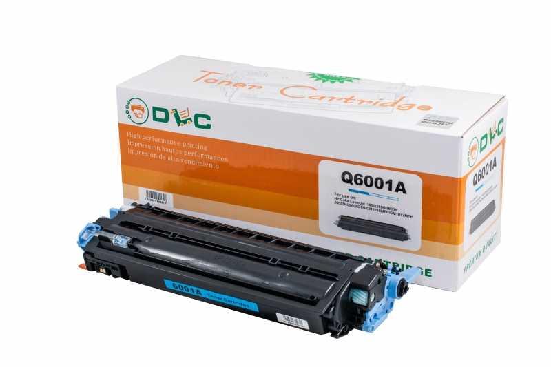 Cartus compatibil toner DLC HP 124A (Q6001A) CYAN, 2K