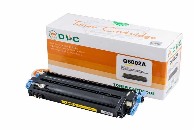 Cartus compatibil toner DLC HP 124A (Q6002A) YELLOW, 2K