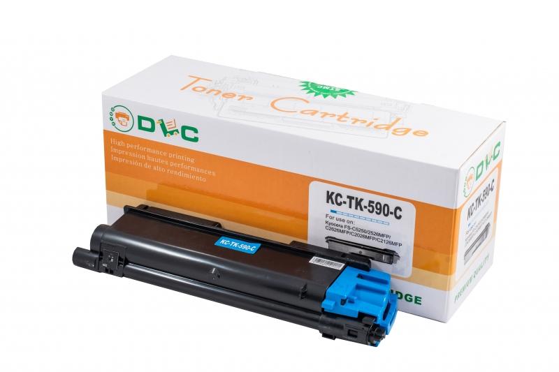 Cartus compatibil toner DLC KYOCERA TK590C CYAN, 5K