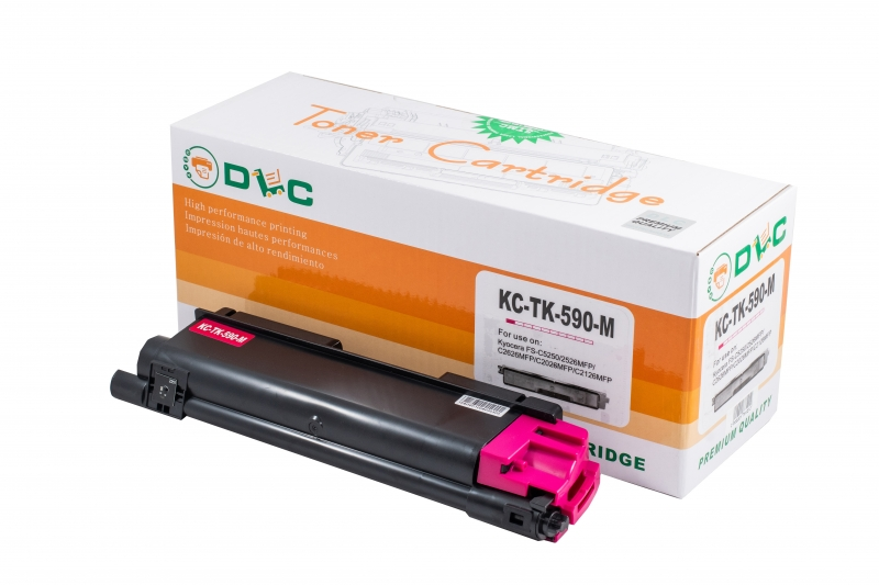 Cartus compatibil toner DLC KYOCERA TK590M MAGENTA, 5K