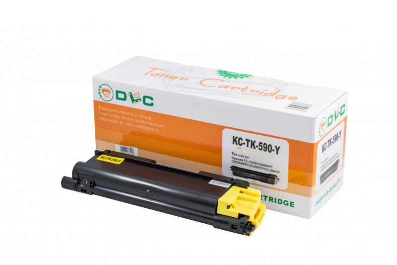 Cartus compatibil toner DLC KYOCERA TK590Y YELLOW, 5K