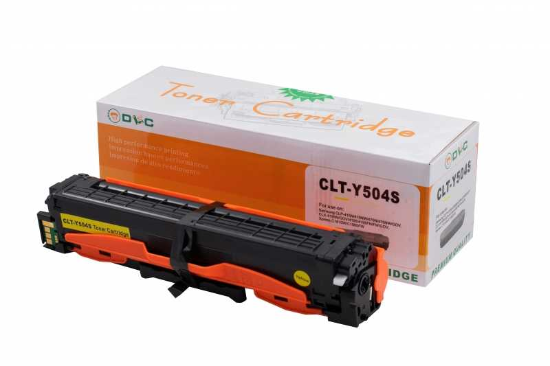 Cartus compatibil toner DLC SAMSUNG CLT-Y504S, 2.5K