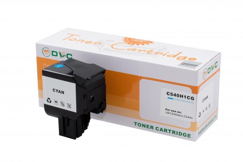 Cartus compatibil toner DLC LEXMARK C540H2KG (C540) CYAN, 2K