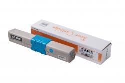 Cartus compatibil toner DLC OKI 44469706 (C310/MC361) CYAN, 2K