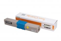 Cartus compatibil toner DLC OKI 44469704 (C310/MC361) YELLOW, 2K