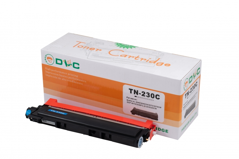 Cartus compatibil toner DLC BROTHER TN230 CYAN, 1.4K