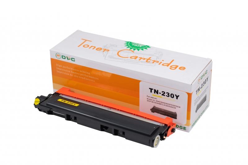 Cartus compatibil toner DLC BROTHER TN230 YELLOW, 1.4K