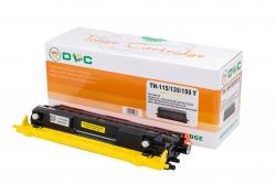 Cartus compatibil toner DLC BROTHER TN115 YELLOW, 2.5K