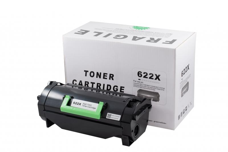 Cartus compatibil toner DLC LEXMARK 622X, 45K