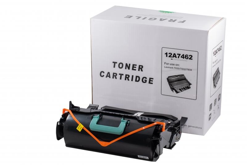 Cartus compatibil toner DLC LEXMARK 12A7362 (T630/T632/T634/X630/X632/X634), 21K