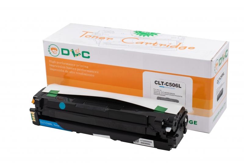 Cartus compatibil toner DLC SAMSUNG CLT-C506L (CLP680) CYAN, 3.5K