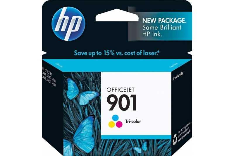 Cartus original cerneala HP 901 (CC656AE) COLOR