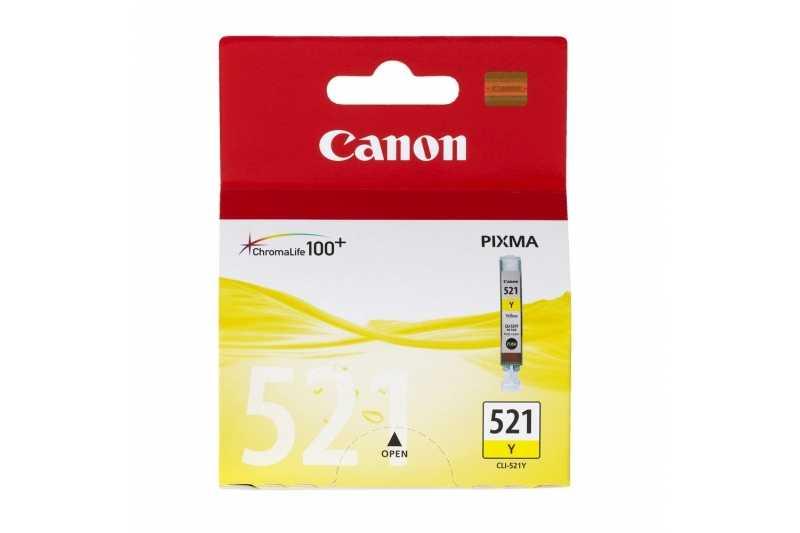 Cartus original cerneala CANON CLI521 YELLOW