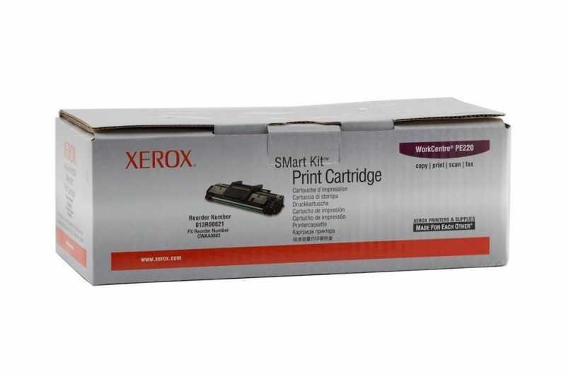 Cartus original toner XEROX 013R00621 (PE220) BK, 3K