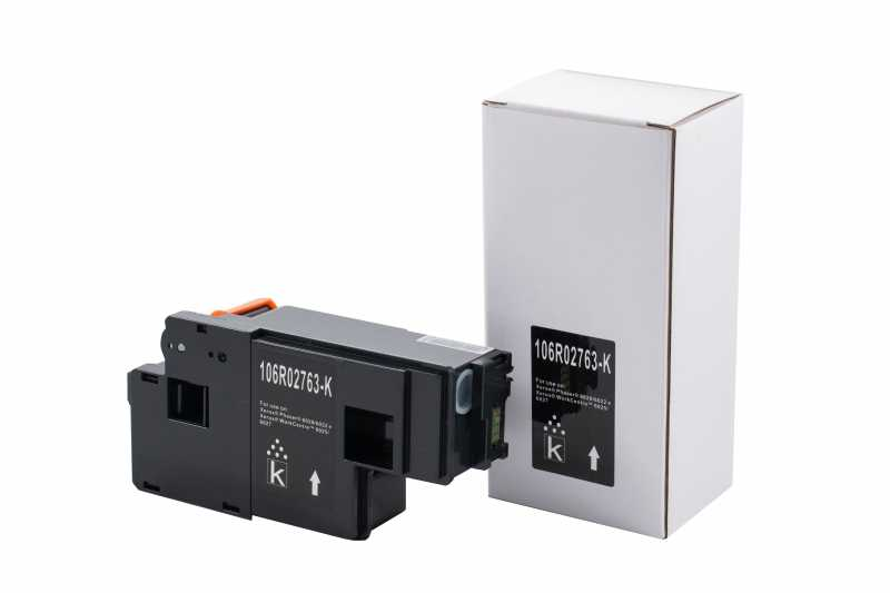Cartus compatibil toner DLC XEROX 106R02763 (PH6020/6022/WC6025/6027) BK 2K